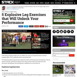 5 Explosive Leg Exercises that Will Unlock Your Performance
