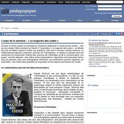 « Le magicien des codes » : Claude Shannon