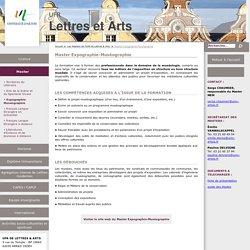 Expographie-Muséographie : site de l'université