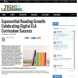 Exponential Reading Growth: Celebrating Digital ELA Curriculum Success