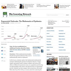 Exponential Outbreaks: The Mathematics of Epidemics