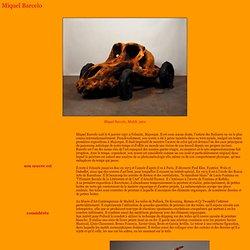 Miquel Barcelo, exporevue, magazine, art vivant et actualité