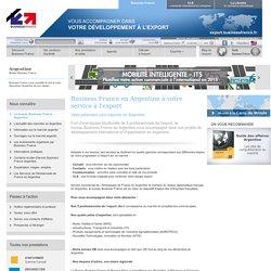 Export en Argentine avec le bureau Business France