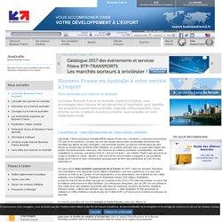 Export en Australie avec le bureau Business France