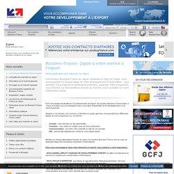 Export au Japon avec les bureaux Business France