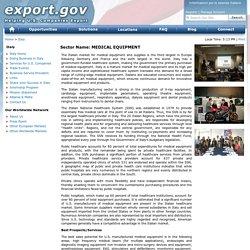 Export.gov - Medical Equipment