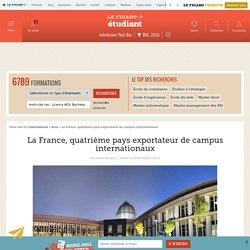 29/02 La France, quatrième pays exportateur de campus internationaux