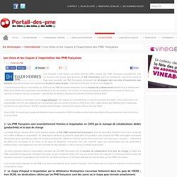 Les choix et les risques à l'exportation des PME françaises [409]