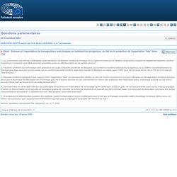 """QUESTION ÉCRITE E-3385/02 posée par Erik Meijer à la Commission - Objet: Entraves à l'exportation de fromage blanc salé bulgare au lactobacillus bulgaricus, du fait de la protection de l'appellation """"feta"""" dans l'UE AGRISALON 14/10/02 La Feta, une AOP gr"""
