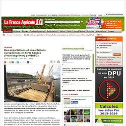 FRANCE AGRICOLE 13/03/13 Céréales - Des exportations et importations européennes en forte hausse (FranceAgriMer) (+VIDEO)