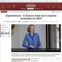Exportations: la France mise sur la reprise mondiale en 2014
