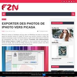 Exporter des photos de iPhoto vers Picasa