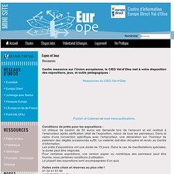 Expos et Jeux du CIJ/CIED Val d'Oise