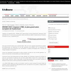 DRONE VOLT s'expose à l'IBC, le plus grand salon européen de l'audiovisuel