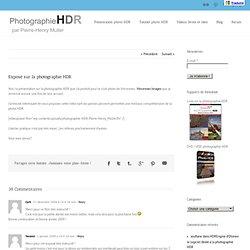 Exposé sur la photographie HDR