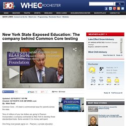 New York State Exposed Education: The company behind Common Core testing