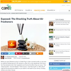 Exposed: The Shocking Truth about Air Fresheners