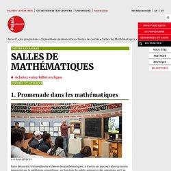 Exposés et ateliers - Salles de Mathématiques