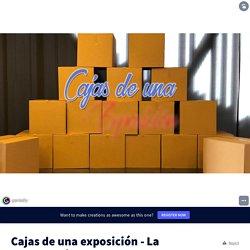 Cajas de una exposición - La Cacharrería Musical by rgomato on Genially