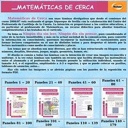 Exposición: Matemáticas de cerca