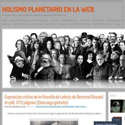 Exposición crítica de la filosofía de Leibniz de Bertrand Russell en pdf, 373 páginas