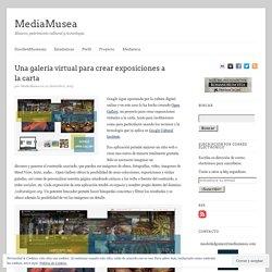 Una galería virtual para crear exposiciones a la carta