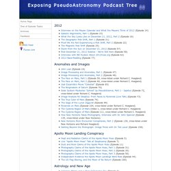 Exposing PseudoAstronomy Podcast - Tree