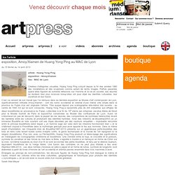exposition, Amoy/Xiamen de Huang Yong Ping au MAC de Lyon