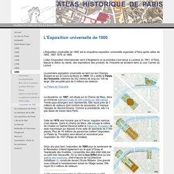L'exposition de 1900 - Atlas historique de Paris