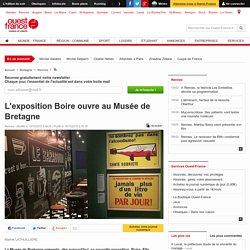 L'exposition Boire ouvre au Musée de Bretagne