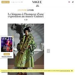 """L'exposition """"Kimono, au bonheur des dames"""" au musée des Arts Asiatiques - Guimet à Paris"""