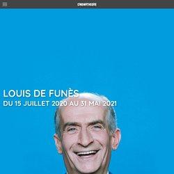 Exposition Louis de Funès - La Cinémathèque française...