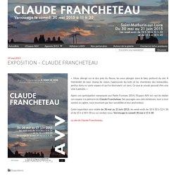 Expo : Claude Francheteau à Saint Mathurin-sur-Loire jusqu'au 21/06