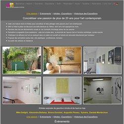 Exposition Art contemporain au Clos de la Fontaine Chambres d'hôtes de charme à Uzès