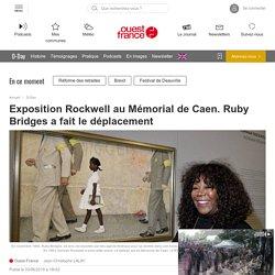 Exposition Rockwell au Mémorial de Caen. Ruby Bridges a fait le déplacement