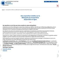 Une exposition inédite sur la Métropole du Grand Paris disponible en ligne