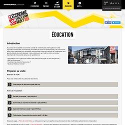 Education - Exposition L'économie : krach, boom, mue ? spécial scolaires et enseignants - Cité des sciences et de l'industrie – Paris