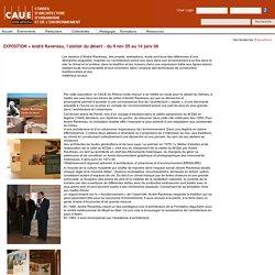 """EXPOSITION """"André Ravereau, l'atelier du désert"""" ou l'architecture """"située"""""""