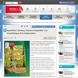 exposition fantasy contes et légendes en vendée