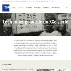 premier génocidie du XXème s:Exposition - Herero et Nama Herero et Nama