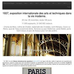 1937, exposition internationale des arts et techniques