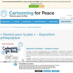 Exposition itinérante «Dessins pour la paix»