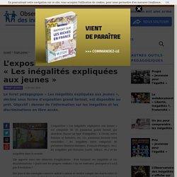 L'exposition itinérante «Les inégalités expliquées aux jeunes»