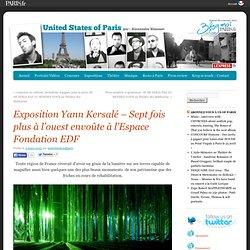 Exposition Yann Kersalé – Sept fois plus à l'ouest envoûte à l'Espace Fondation EDF