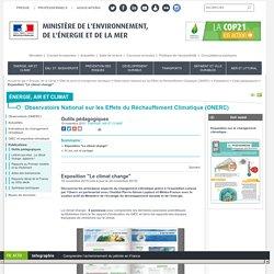 """Exposition """"Le climat change"""""""