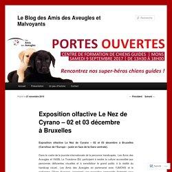 Exposition olfactive Le Nez de Cyrano – 02 et 03 décembre à Bruxelles