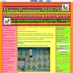Exposition de la 2ème période : Noël - Matergonfaron 2009/2010