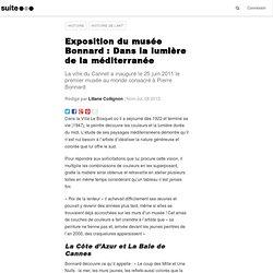 Exposition du musée Bonnard : Dans la lumière de la méditerranée