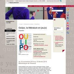 Oulipo, la littérature en jeu(x)