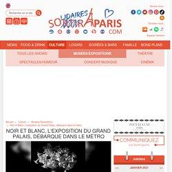 Noir et Blanc, l'exposition du Grand Palais, débarque dans le métro